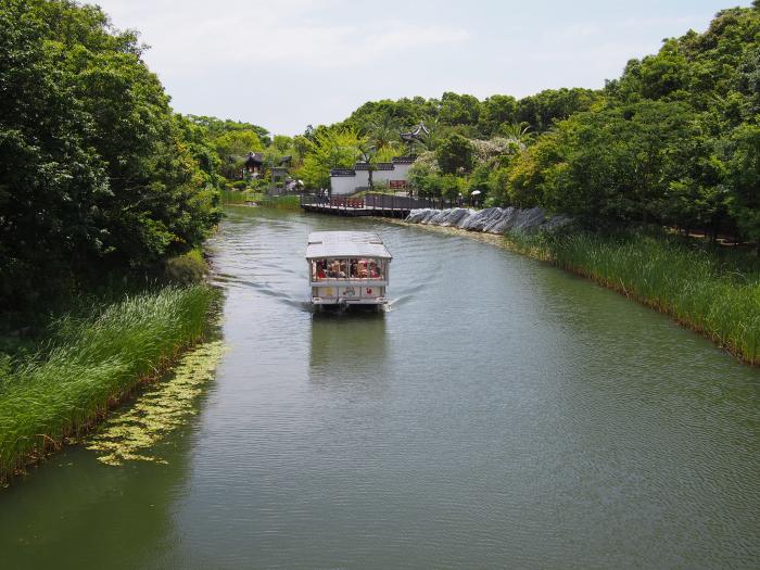浜名湖ガーデンパーク遊覧船