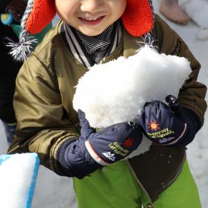 雪遊び ガーデンパーク