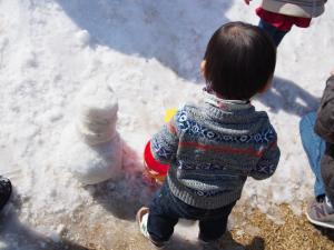 エコパ雪遊び服装